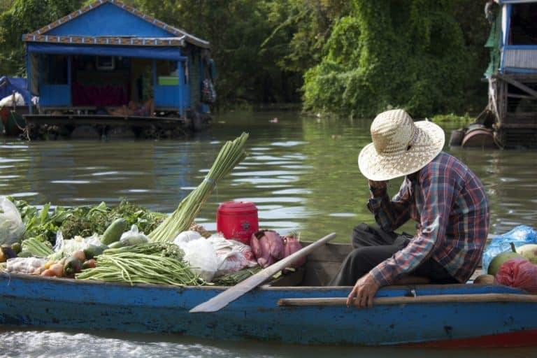 Grocery Shopping on Tonle Sap