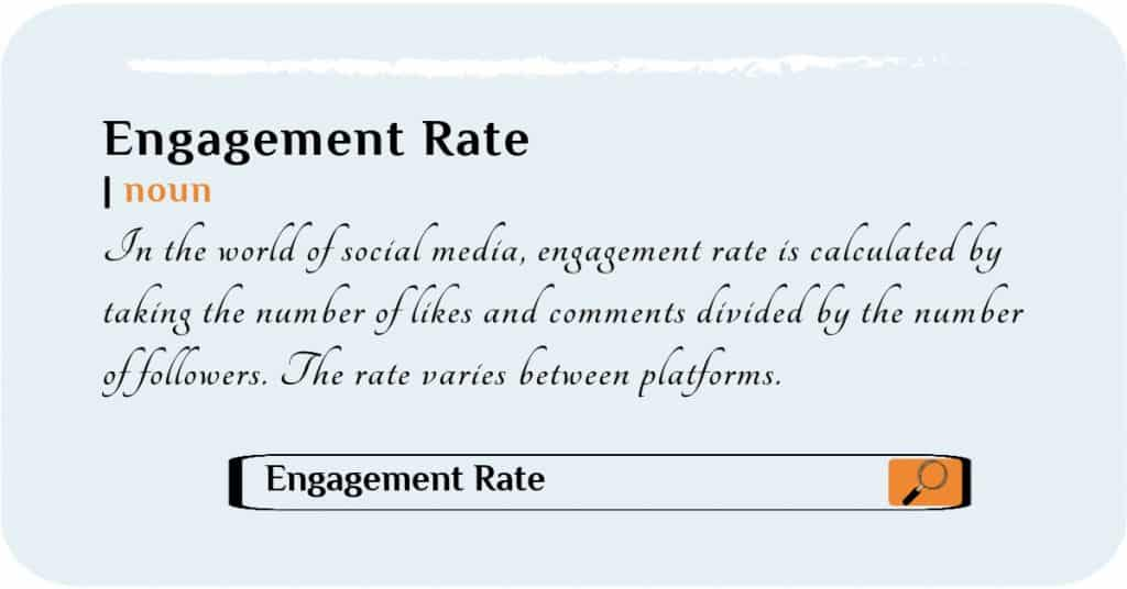 How to calculate engagement rates