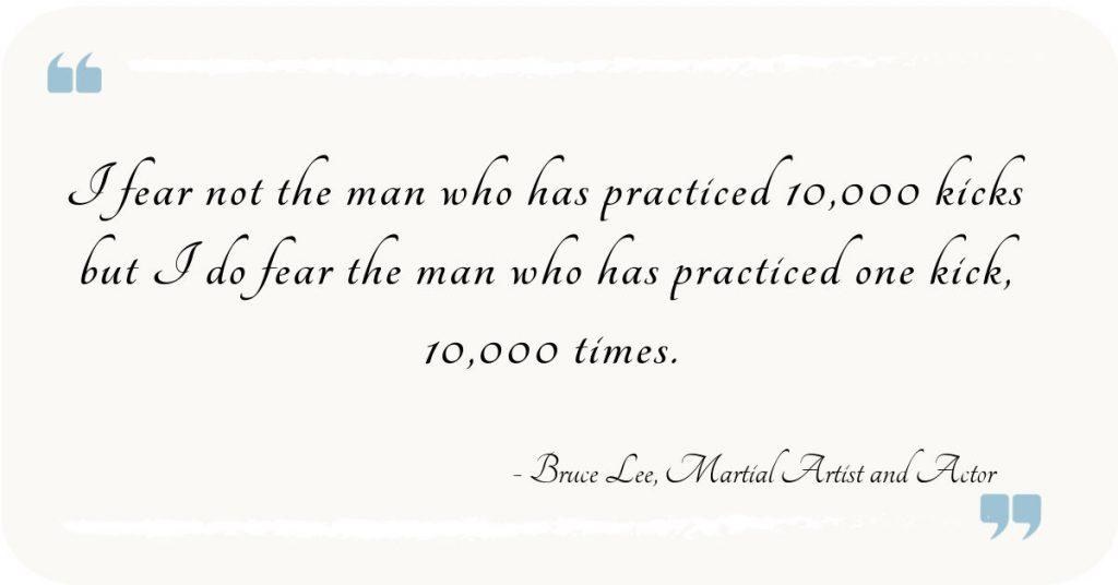 Pratice makes Perfect