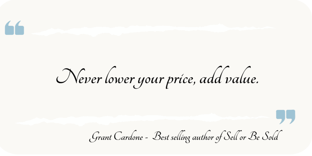 add-value-never-lower-your-price