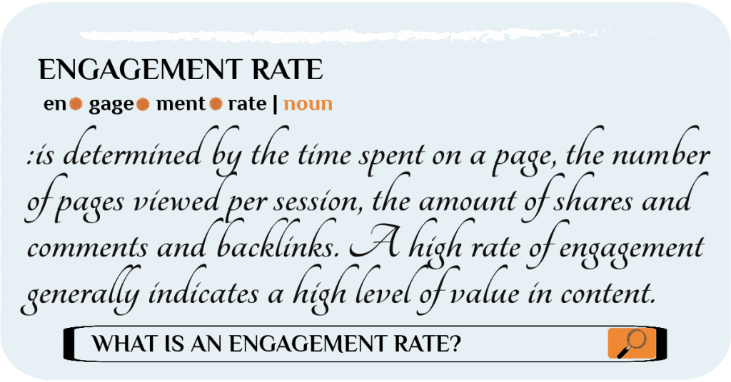 increase your engagement rate on your website
